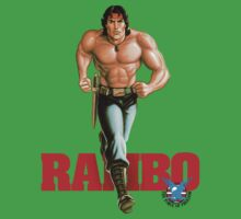 Rambo - Logo #1 - Color One Piece - Short Sleeve
