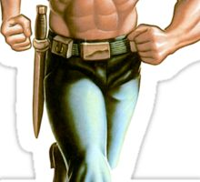 Rambo - Logo #1 - Color Sticker