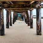 Low Tide Lonsdale Pier by Graeme Buckland