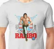 Rambo - Logo #3 - Color Unisex T-Shirt
