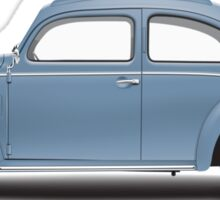 1951 Volkswagen Beetle Sedan - Azure Blue Sticker