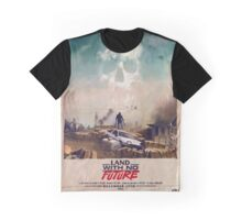 VHS Glitch - Land With No Future - AE86 Graphic T-Shirt