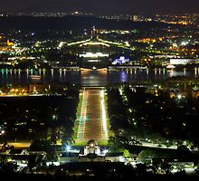 Canberra Night by diggle