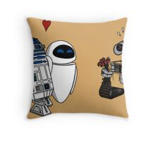 EVA? v2 Throw Pillow