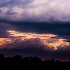 A Threatening Sky by Larry Llewellyn