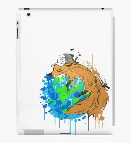 asleep on earth iPad Case/Skin