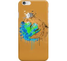 asleep on earth iPhone Case/Skin