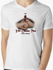Yee Chuan Tao Kona Hawaii T-Shirt Mens V-Neck T-Shirt