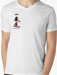 Yee Chuan Tao Calligraphy Kona, Hawaii Mens V-Neck T-Shirt