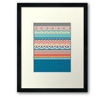 Sweater Pattern | Knit Pattern Framed Print