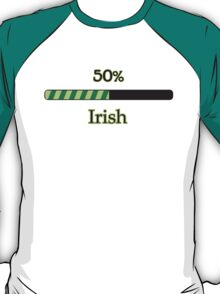 St. Patrick's day: 50 % irish T-Shirt