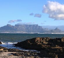Table Mountain South Africa by faizelachmat