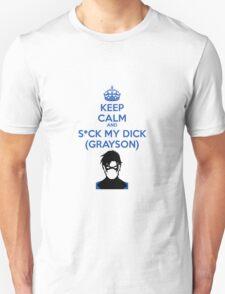 Suck my GRAYSON Unisex T-Shirt