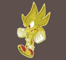 Neon Super Sonic Kids Clothes
