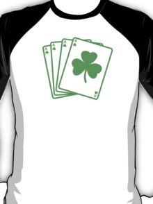 St. Patrick's day: Poker T-Shirt