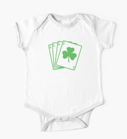St. Patrick's day: Poker One Piece - Short Sleeve