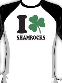 St. Patrick's day: I love shamrocks T-Shirt