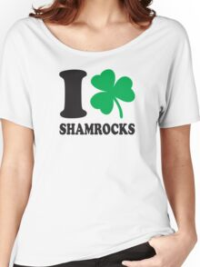St. Patrick's day: I love shamrocks Women's Relaxed Fit T-Shirt