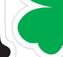 St. Patrick's day: I love shamrocks Sticker