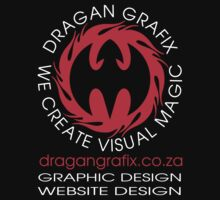 DRAGAN GRAFIX Graphic Design And Website Design T-Shirt Design by Christopher McCabe