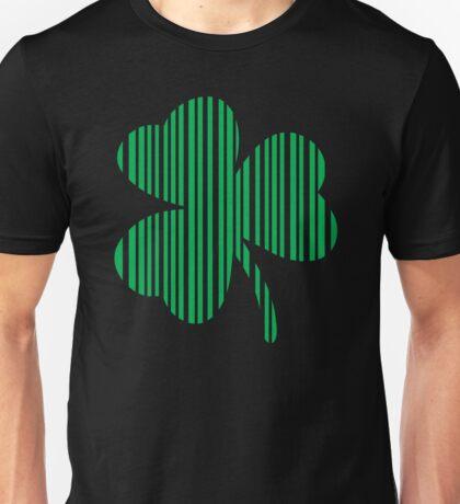 St. Patrick's day: Shamrock Barcode Unisex T-Shirt