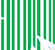 St. Patrick's day: Shamrock Barcode Sticker
