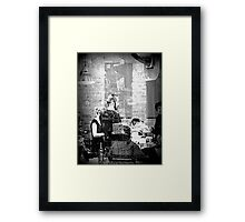 One Moment Framed Print