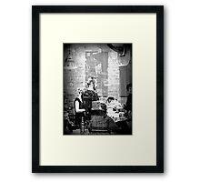 One Moment Framed Print