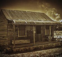 An Old Fashioned Shack by Deborah McGrath