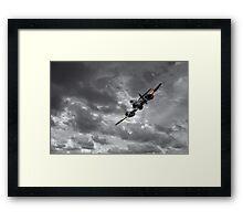 Meteor Splash Framed Print