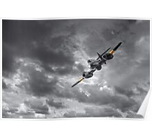Meteor Splash Poster
