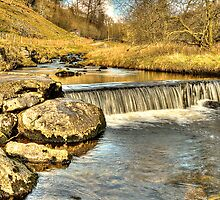 Clapham Beck (HDR) by Stephen Knowles