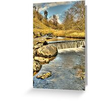 Clapham Beck (HDR) Greeting Card