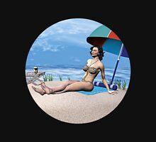 Girl under the Sun Mens V-Neck T-Shirt