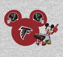 Mickey Mouse Atlanta Falcons fan by sweetsisters
