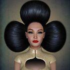 Queen of clubs portrait by Britta Glodde