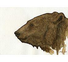 The Maiden  Fair - Bear Photographic Print