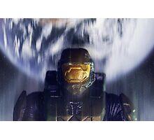 Master chief John-117 Halo Spartan Photographic Print