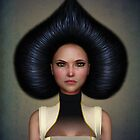 Queen of spades portrait by Britta Glodde