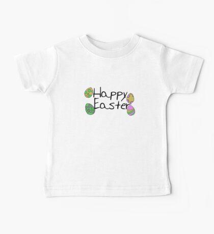 Happy Easter eggs Baby Tee