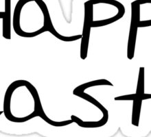 Happy Easter eggs Sticker