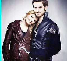 Emma and Hook by Mary-margaret