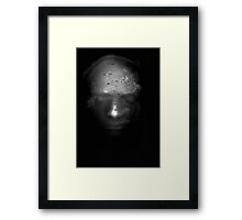 Photocopied Expanding Foam Portrait Series (2) Framed Print