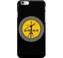 One Arm Chin-Up - My Performance Enhancement Drug iPhone Case/Skin