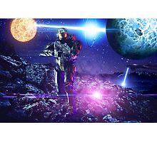 Master chief John-117 Halo rings Spartan  Photographic Print