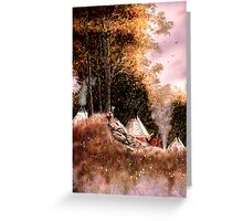 Hunt Camp Evening Greeting Card