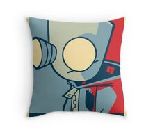 DOOOOOM - Gir Throw Pillow