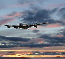 Lancaster - 'On a Wing and a Prayer' by Pat Speirs