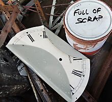 Full Of Scrap And Anyway: What Time Is It? by Alexandra Lavizzari