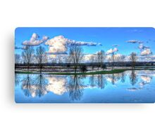 March's Mirror Canvas Print